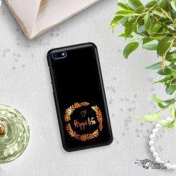 NEON GOLD ETUI NA TELEFON HUAWEI Y5 2018 MIENIĄCE SIĘ ZLC116