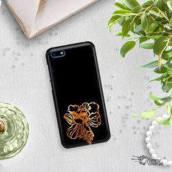 NEON GOLD ETUI NA TELEFON HUAWEI Y5 2018 MIENIĄCE SIĘ ZLC121