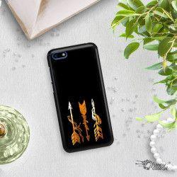 NEON GOLD ETUI NA TELEFON HUAWEI Y5 2018 MIENIĄCE SIĘ ZLC123
