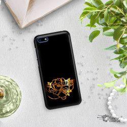 NEON GOLD ETUI NA TELEFON HUAWEI Y5 2018 MIENIĄCE SIĘ ZLC125