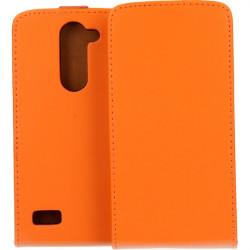 KABURA SLIGO ELEGANCE ETUI NA TELEFON LG L BELLO D331 L80 PLUS POMARAŃCZOWY