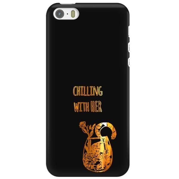NEON GOLD ETUI NA TELEFON IPHONE 5 5S SE A1533/A1428 MIENIĄCE SIĘ ZLC106
