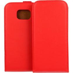 KABURA SLIGO ELEGANCE ETUI NA TELEFON SAMSUNG GALAXY S6 EDGE G925 CZERWONY