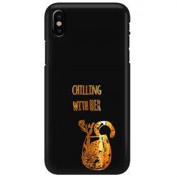 NEON GOLD ETUI NA TELEFON IPHONE X / XS A1865/A1920 MIENIĄCE SIĘ ZLC106