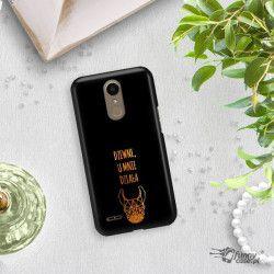 NEON GOLD ETUI NA TELEFON LG K10 2017 M250N MIENIĄCE SIĘ ZLC102