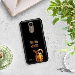 NEON GOLD ETUI NA TELEFON LG K10 2017 M250N MIENIĄCE SIĘ ZLC106