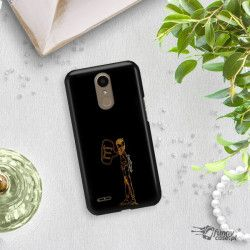 NEON GOLD ETUI NA TELEFON LG K10 2017 M250N MIENIĄCE SIĘ ZLC110