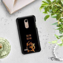 NEON GOLD ETUI NA TELEFON LG K10 2018 MIENIĄCE SIĘ ZLC100