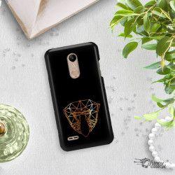 NEON GOLD ETUI NA TELEFON LG K10 2018 MIENIĄCE SIĘ ZLC104