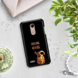NEON GOLD ETUI NA TELEFON LG K10 2018 MIENIĄCE SIĘ ZLC106