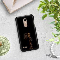 NEON GOLD ETUI NA TELEFON LG K10 2018 MIENIĄCE SIĘ ZLC110