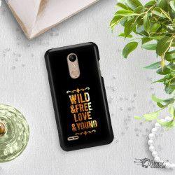 NEON GOLD ETUI NA TELEFON LG K10 2018 MIENIĄCE SIĘ ZLC111