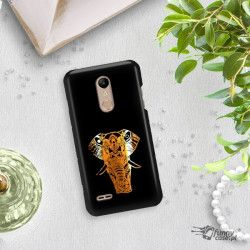 NEON GOLD ETUI NA TELEFON LG K10 2018 MIENIĄCE SIĘ ZLC112