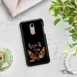 NEON GOLD ETUI NA TELEFON LG K10 2018 MIENIĄCE SIĘ ZLC113