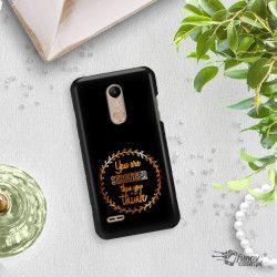 NEON GOLD ETUI NA TELEFON LG K10 2018 MIENIĄCE SIĘ ZLC114