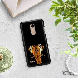 NEON GOLD ETUI NA TELEFON LG K10 2018 MIENIĄCE SIĘ ZLC117