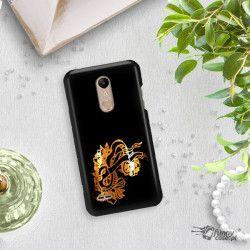 NEON GOLD ETUI NA TELEFON LG K10 2018 MIENIĄCE SIĘ ZLC126