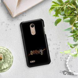 NEON GOLD ETUI NA TELEFON LG K10 2018 MIENIĄCE SIĘ ZLC134