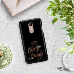 NEON GOLD ETUI NA TELEFON LG K10 2018 MIENIĄCE SIĘ ZLC137