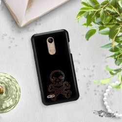 NEON GOLD ETUI NA TELEFON LG K10 2018 MIENIĄCE SIĘ ZLC141