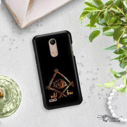 NEON GOLD ETUI NA TELEFON LG K8 2018 MIENIĄCE SIĘ ZLZ115