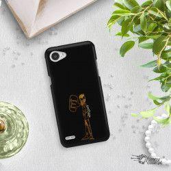 NEON GOLD ETUI NA TELEFON LG Q6 M700A MIENIĄCE SIĘ ZLC110