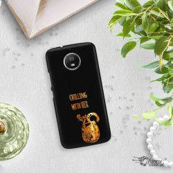 NEON GOLD ETUI NA TELEFON MOTOROLA MOTO G5S MIENIĄCE SIĘ ZLZ106