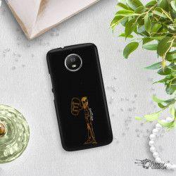 NEON GOLD ETUI NA TELEFON MOTOROLA MOTO G5S MIENIĄCE SIĘ ZLZ110