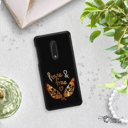 NEON GOLD ETUI NA TELEFON NOKIA 5 TA-1024 MIENIĄCE SIĘ ZLC113