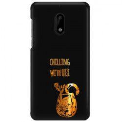 NEON GOLD ETUI NA TELEFON NOKIA 6 TA-1021  MIENIĄCE SIĘ ZLC106