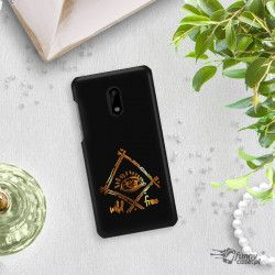 NEON GOLD ETUI NA TELEFON NOKIA 6 TA-1021 MIENIĄCE SIĘ ZLC115