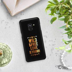 NEON GOLD ETUI NA TELEFON SAMSUNG GALAXY A5 2018 A8 2018 A530 MIENIĄCE SIĘ ZLC111