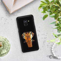 NEON GOLD ETUI NA TELEFON SAMSUNG GALAXY A5 2018 A8 2018 A530 MIENIĄCE SIĘ ZLC112