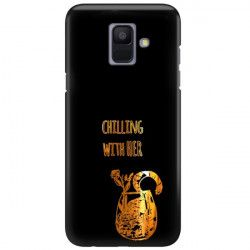NEON GOLD ETUI NA TELEFON SAMSUNG GALAXY A6 2018 A600 MIENIĄCE SIĘ ZLC106