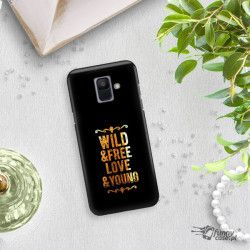 NEON GOLD ETUI NA TELEFON SAMSUNG GALAXY A6 2018 A600 MIENIĄCE SIĘ ZLC111