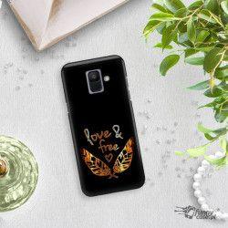 NEON GOLD ETUI NA TELEFON SAMSUNG GALAXY A6 2018 A600 MIENIĄCE SIĘ ZLC113