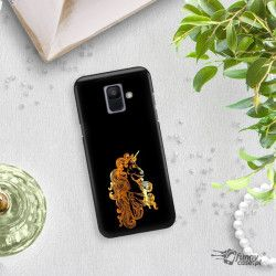 NEON GOLD ETUI NA TELEFON SAMSUNG GALAXY A6 2018 A600 MIENIĄCE SIĘ ZLC124