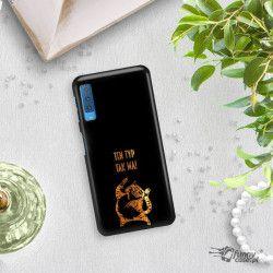 NEON GOLD ETUI NA TELEFON SAMSUNG GALAXY A7 2018 A8 PLUS A750 MIENIĄCE SIĘ ZLC100