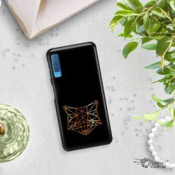 NEON GOLD ETUI NA TELEFON SAMSUNG GALAXY A7 2018 A8 PLUS A750 MIENIĄCE SIĘ ZLC101