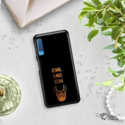 NEON GOLD ETUI NA TELEFON SAMSUNG GALAXY A7 2018 A8 PLUS A750 MIENIĄCE SIĘ ZLC102