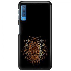 NEON GOLD ETUI NA TELEFON SAMSUNG GALAXY A7 2018 A8 PLUS A750 MIENIĄCE SIĘ ZLC103