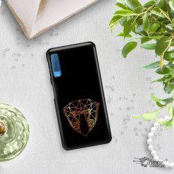 NEON GOLD ETUI NA TELEFON SAMSUNG GALAXY A7 2018 A8 PLUS A750 MIENIĄCE SIĘ ZLC104
