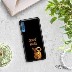 NEON GOLD ETUI NA TELEFON SAMSUNG GALAXY A7 2018 A8 PLUS A750 MIENIĄCE SIĘ ZLC106