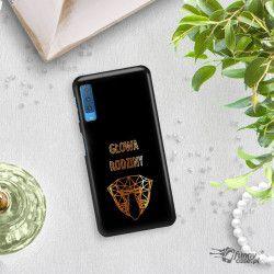 NEON GOLD ETUI NA TELEFON SAMSUNG GALAXY A7 2018 A8 PLUS A750 MIENIĄCE SIĘ ZLC107