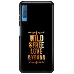 NEON GOLD ETUI NA TELEFON SAMSUNG GALAXY A7 2018 A8 PLUS A750 MIENIĄCE SIĘ ZLC111