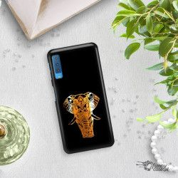 NEON GOLD ETUI NA TELEFON SAMSUNG GALAXY A7 2018 A8 PLUS A750 MIENIĄCE SIĘ ZLC112