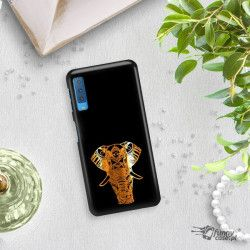 NEON GOLD ETUI NA TELEFON SAMSUNG GALAXY A7 2018 A8 PLUS A750 MIENIĄCE SIĘ ZLC117
