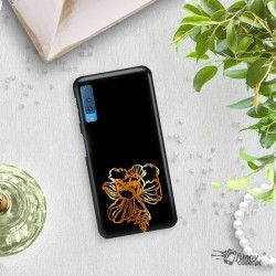 NEON GOLD ETUI NA TELEFON SAMSUNG GALAXY A7 2018 A8 PLUS A750 MIENIĄCE SIĘ ZLC121