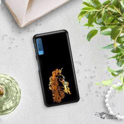 NEON GOLD ETUI NA TELEFON SAMSUNG GALAXY A7 2018 A8 PLUS A750 MIENIĄCE SIĘ ZLC124