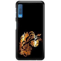 NEON GOLD ETUI NA TELEFON SAMSUNG GALAXY A7 2018 A8 PLUS A750 MIENIĄCE SIĘ ZLC126